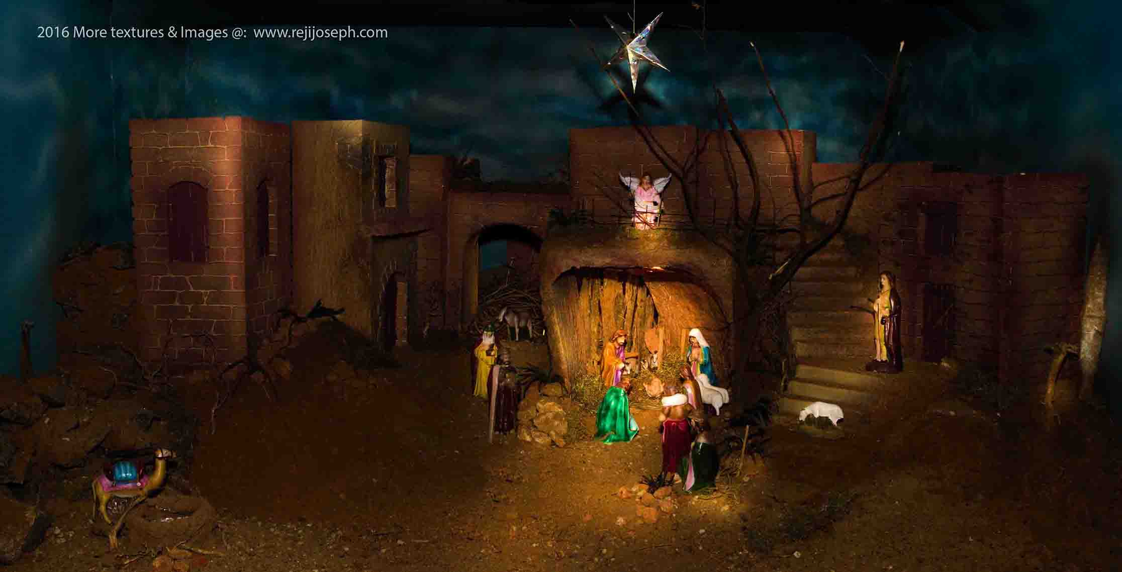 Christmas crib Pulkoodu St. George Forane Church Edappally 00004