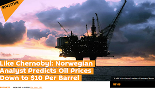 국제 유가 전망 : 원유 배럴당 15~10 달러 까지 하락 예상
