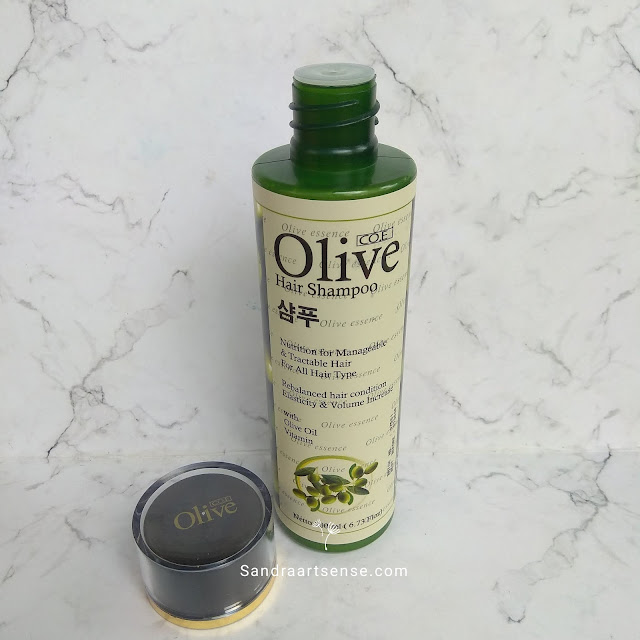 SYB olive hair shampoo