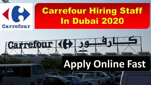 Carrefour Jobs In Dubai -UAE 2020