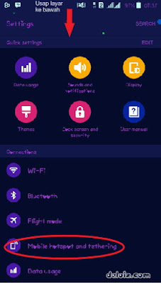 Mobile hotspot and tethering