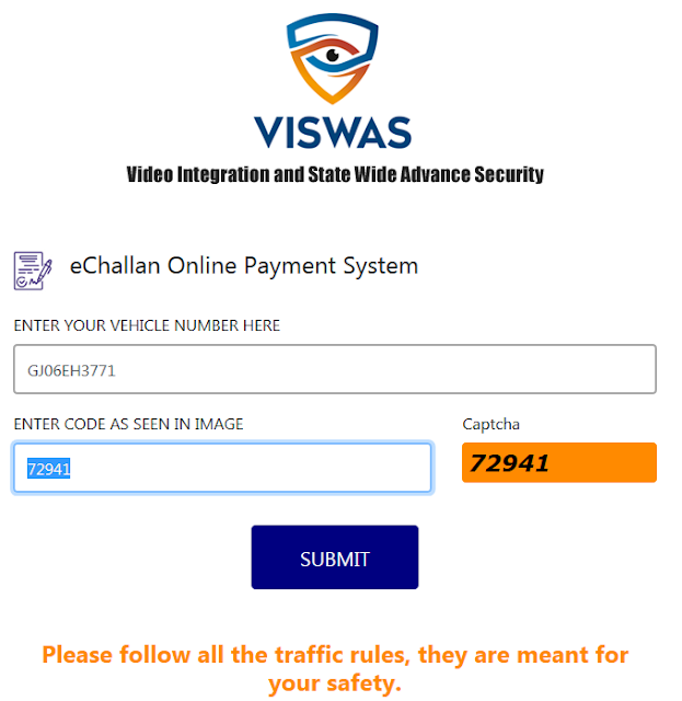 [ Pay Online E-Challan ] ~ Palanpur RTO Office Banaskantha Police