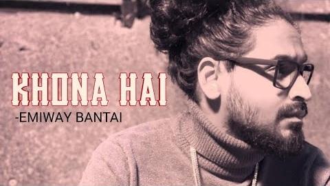 Khona hain lyrics in English and hindi