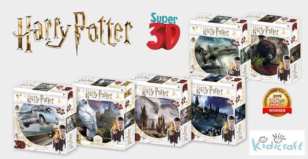Harry Potter 3D Puzzle Range