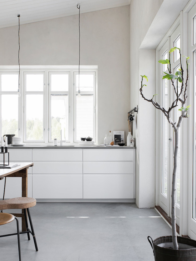 A lovely swedish studio outhouse in 25m2 decoration for Idee deco studio 25m2