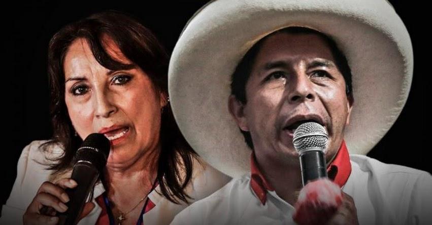 JNE: Entrega de credenciales de Pedro Castillo y Dina Boluarte será este viernes 23 de julio