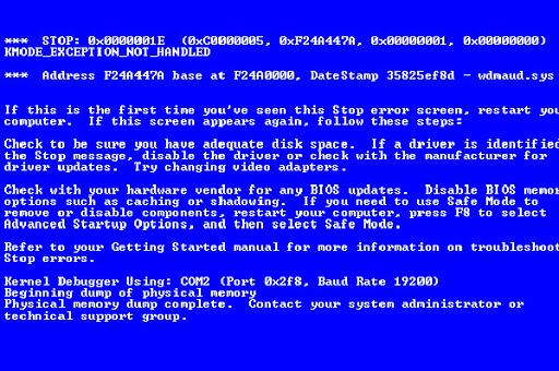 Komputer dan Laptop Kena Bluescreen