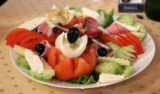 The house special salad