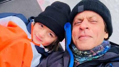 Shahrukh Khan takes AbRam on a jet-ski ride