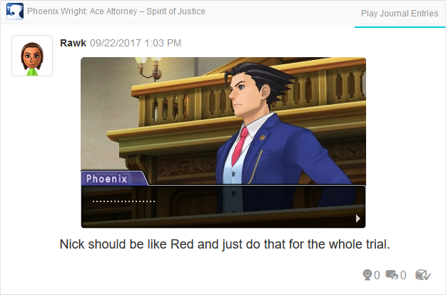 Phoenix Wright Ace Attorney Spirit of Justice silence Turnabout Revolution