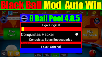 black ball autowin mode 8 ball pool