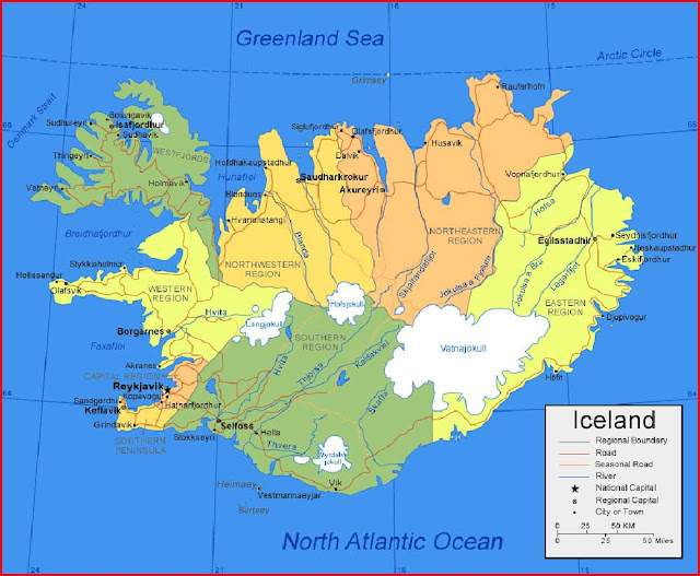 image: Iceland Map High Resolution