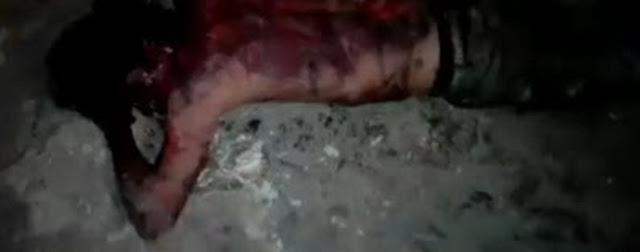 Queman a un asaltante en San Miguel Canoa