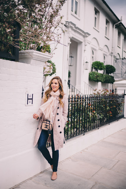 Pink Lace Trench by Burberry  | Gal Meets Glam