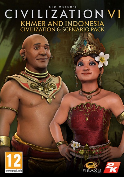 โหลดเกมส์ Sid Meier's Civilization VI - Khmer And Indonesia Civilization And Scenario Pack