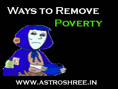 astrology remedies to remove poverty