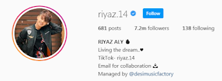 Riyaz Aly Instagram