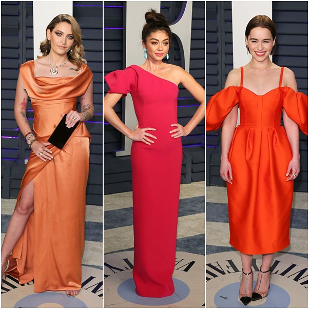 Looks da festa Pós-Oscar da Vanity Fair 2019
