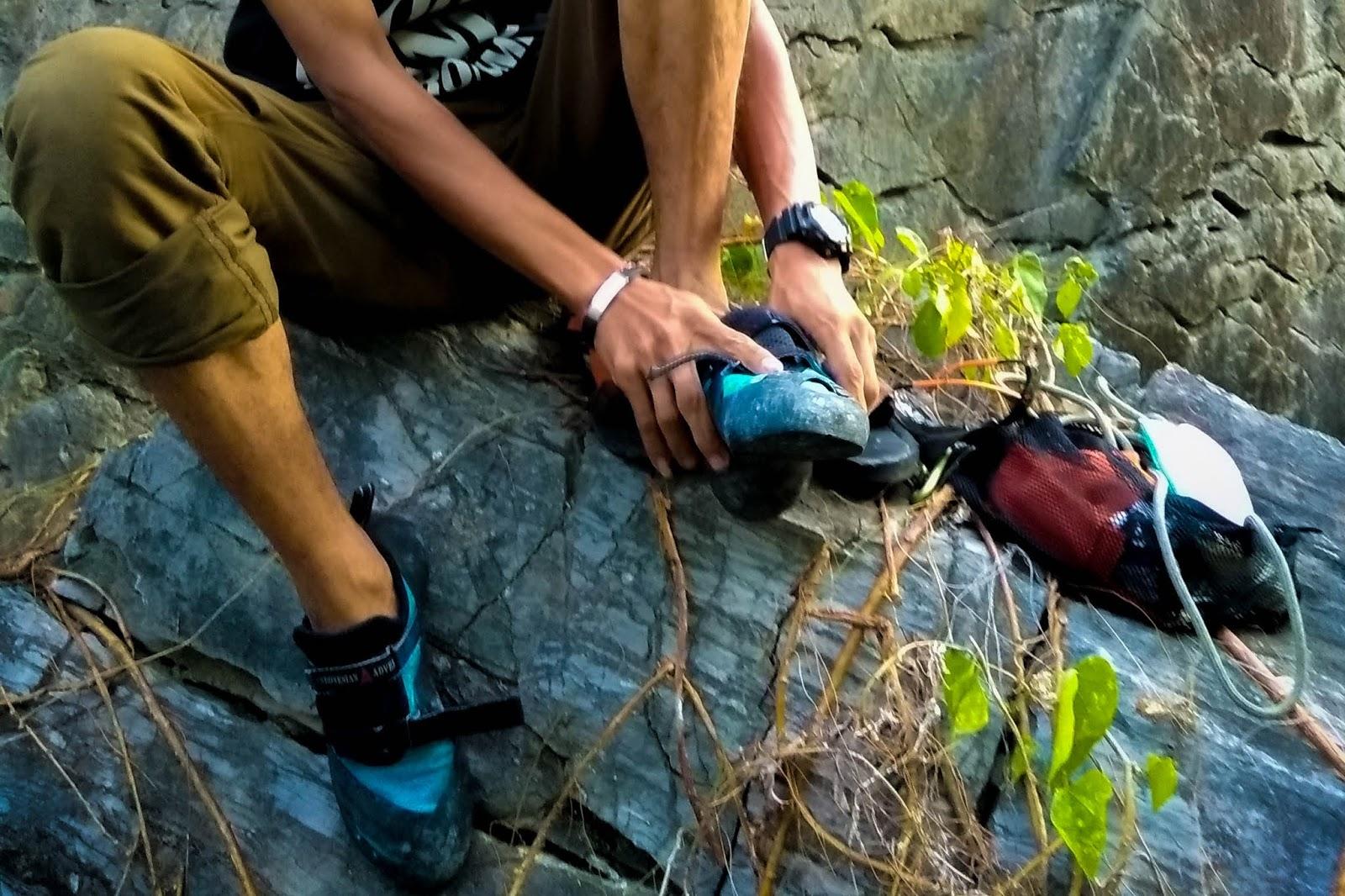 Fungsi Jenis Dan Merek Sepatu Panjat Tebing Kelas Dunia