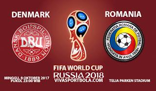 Prediksi Togel Denmark vs Romania 8 Oktober 2017