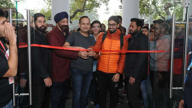 The country's third OnePlus Experience store is open in Delhi;