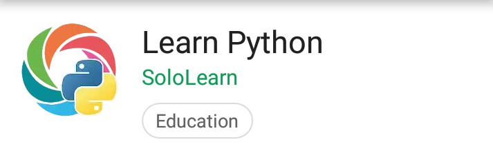 Learn Python: Mobile App with huge amount of python tutorials
