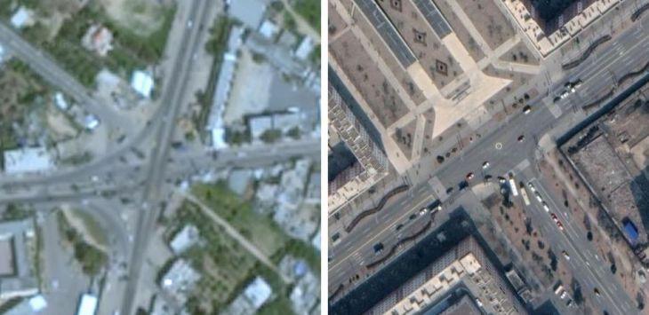 Foto Terbaru Gaza Palestina di Google Earth Kok Blur Begini, Sengaja Ditutupi Amerika?