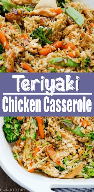 Teriyaki #Chicken #Casserole
