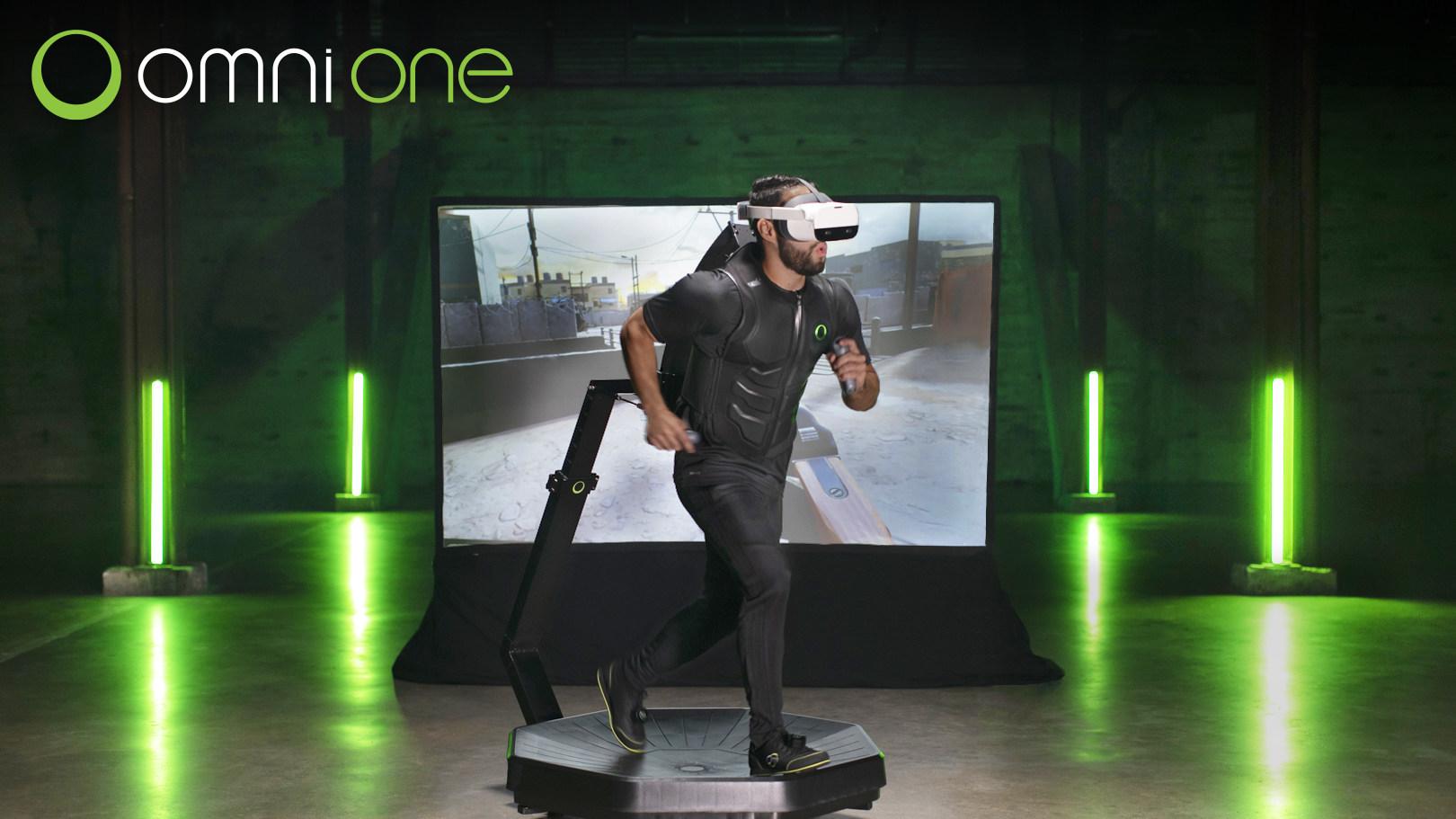 Omni One virtual reality treadmill raises over $11 million
