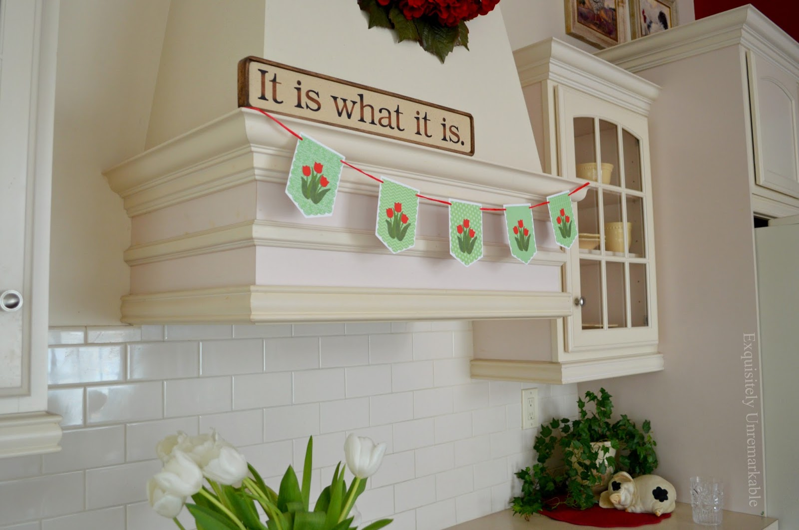 Kitchen Banner For Spring