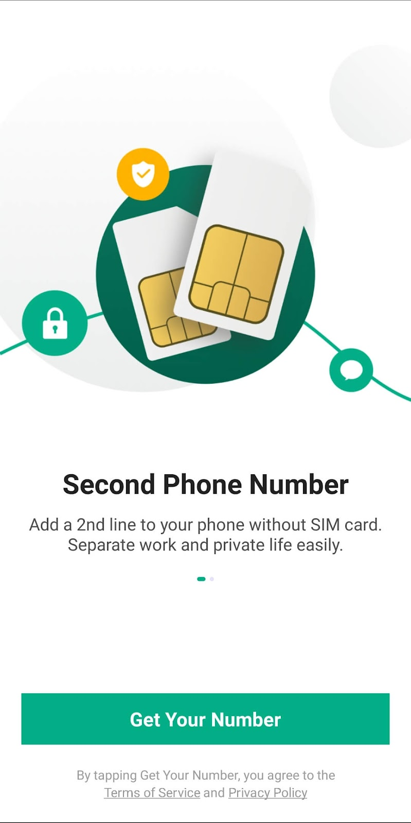 Get your number