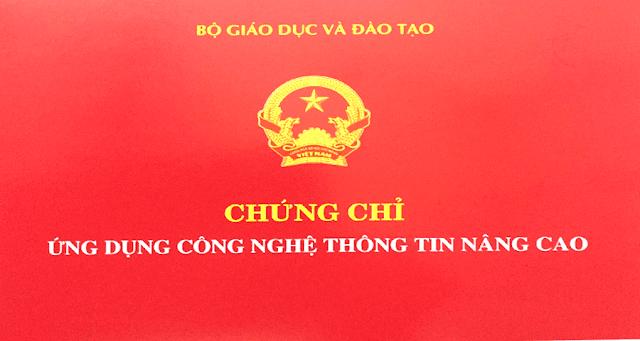 Chứng chỉ ứng dụng CNTT nâng cao tại Biên Hòa