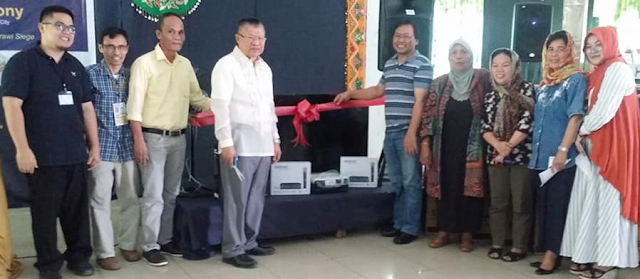 ERRATUM: USAID donates big flat-screen TV sets, other equipment to MSU