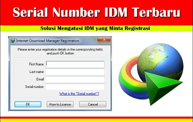 mendapatkan serial number idm gratis
