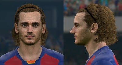PES 2017 Faces Antoine Griezmann by Sameh Momen