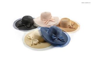straw hats woman firenze