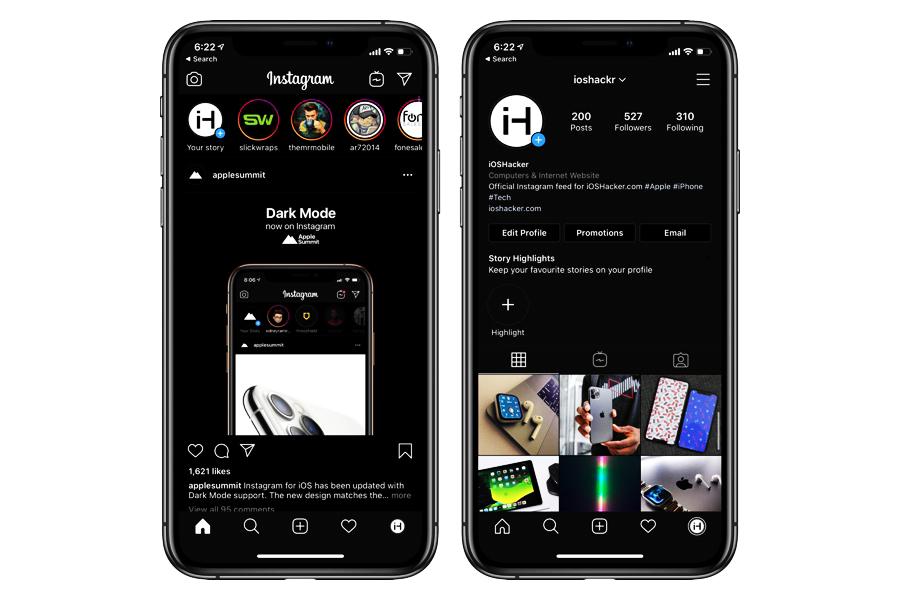 تنزيل انستقرام الاسود Instagram V20 Beta Build 2 Black Apk أحدث إصدار 2020 للاندرويد