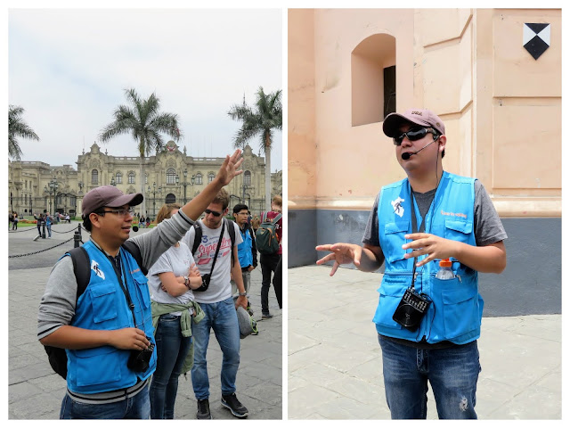 Ricardo, our tour guide from Free Walking Tours Lima