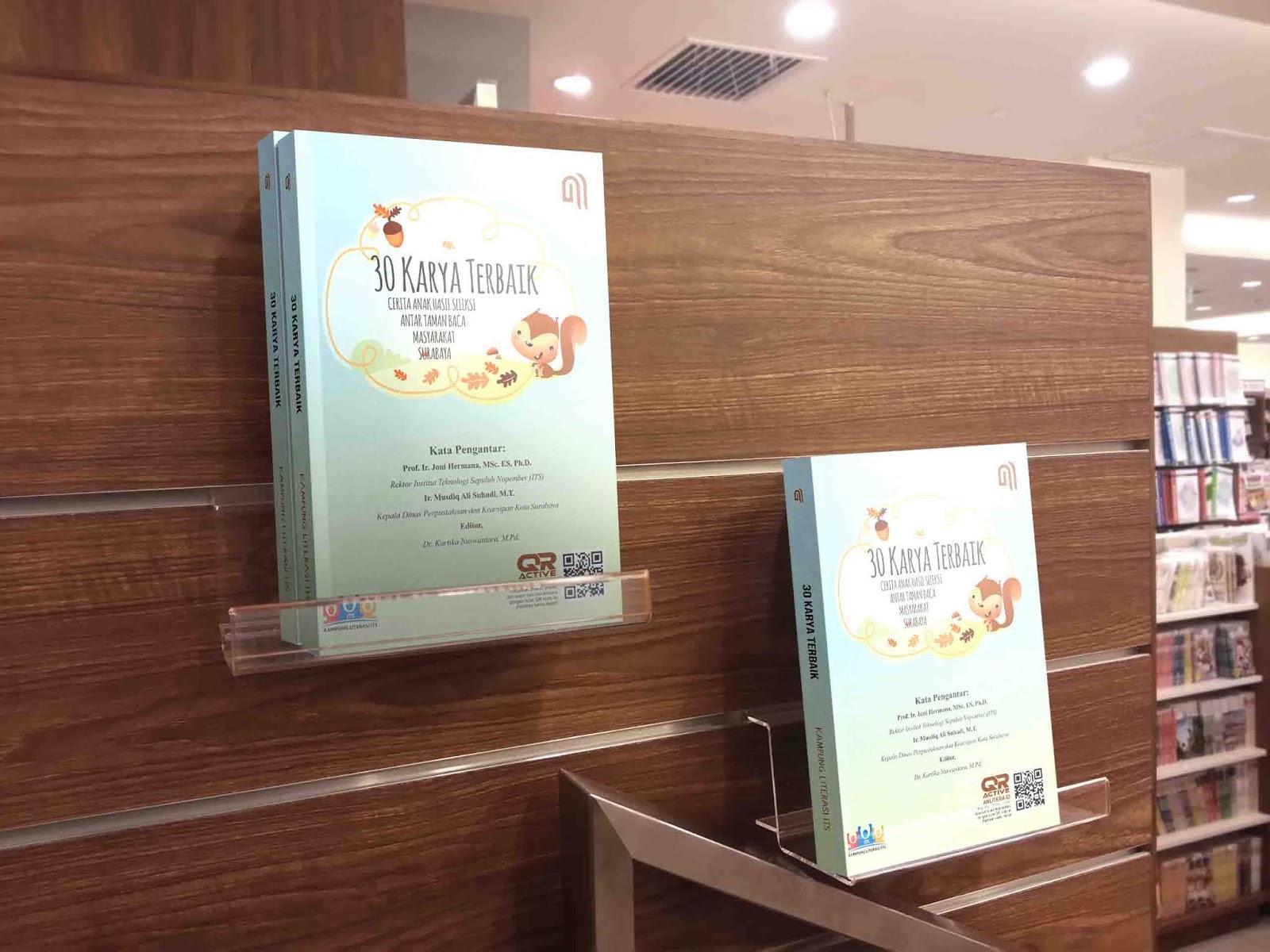 30 Karya Terbaik Cerita Anak TBM Surabaya