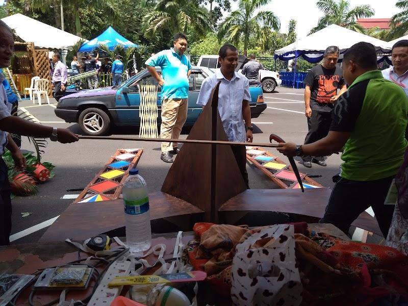 Persiapan Gerai Sempena Jamuan Raya IPK Negeri Sembilan