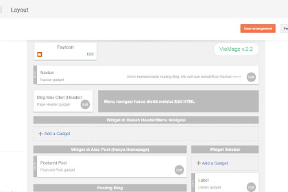 Cara Lengkap Setting dan Optimasi Template VioMagz V.2.8