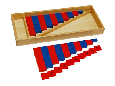 Montessori Numerical Rods