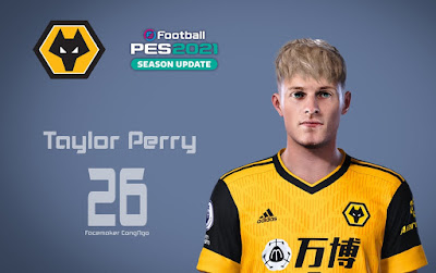 PES 2021 Faces Taylor Perry by CongNgo