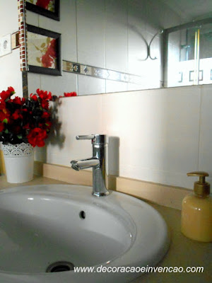Armário de banheiro - DIY