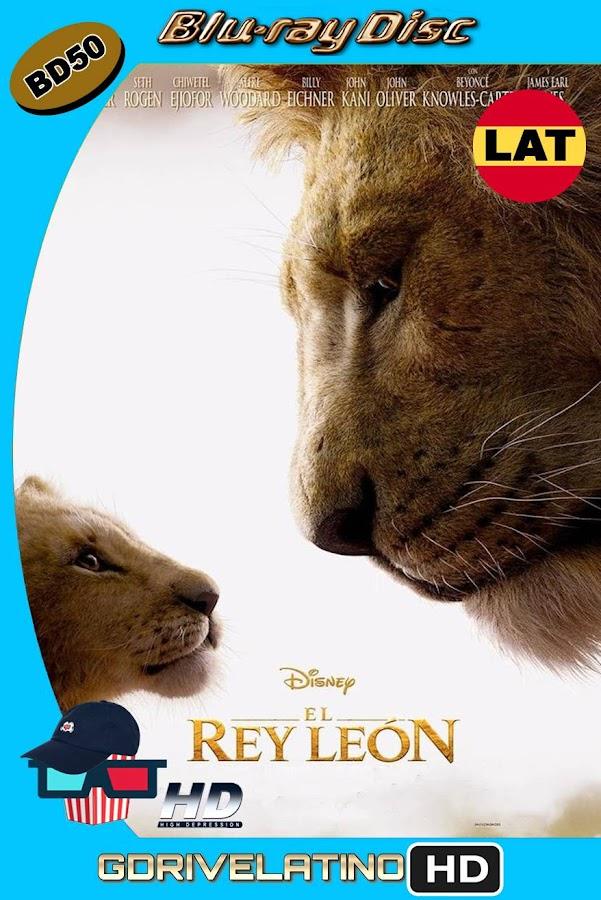 El Rey León (2019) BD50 1080p Latino-Ingles ISO