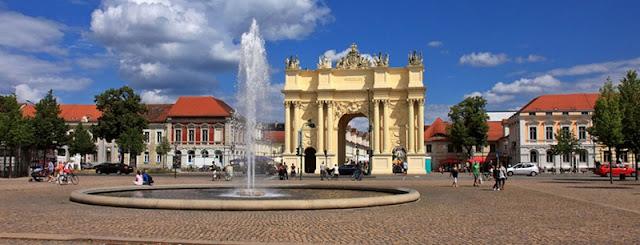 Região de Potsdam e Sanssouci em Berlim