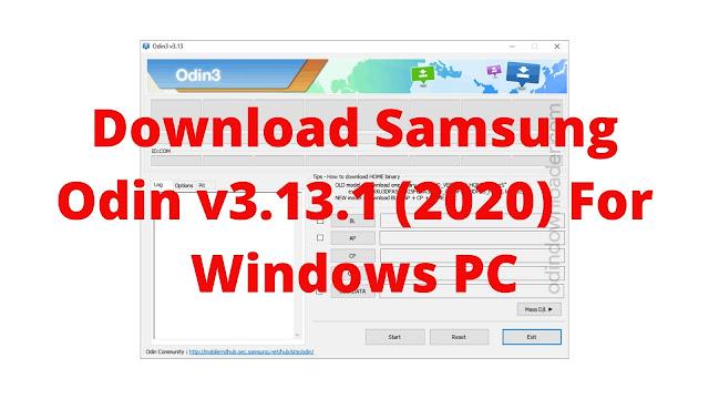 Download Samsung Odin v3.13.1 (2020) For Windows PC