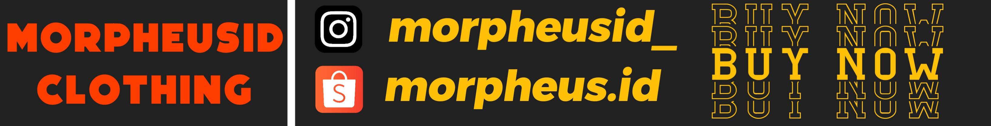 Buruan Order Di Shopee Kaos Premium Dari MorpheusID