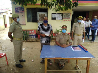 #JaunpurLive : पुलिस के हत्थे चढ़ा शातिर बदमाश