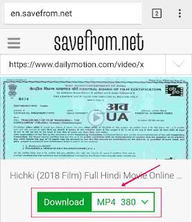 Dailymotion se Movie kaise download kare